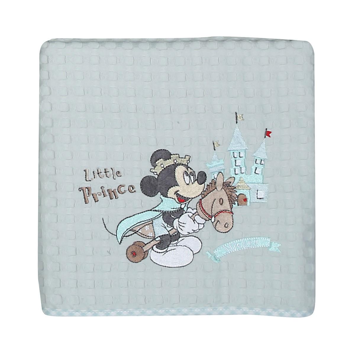 Κουβέρτα Πικέ Κούνιας Nef-Nef Disney Mickey Prince