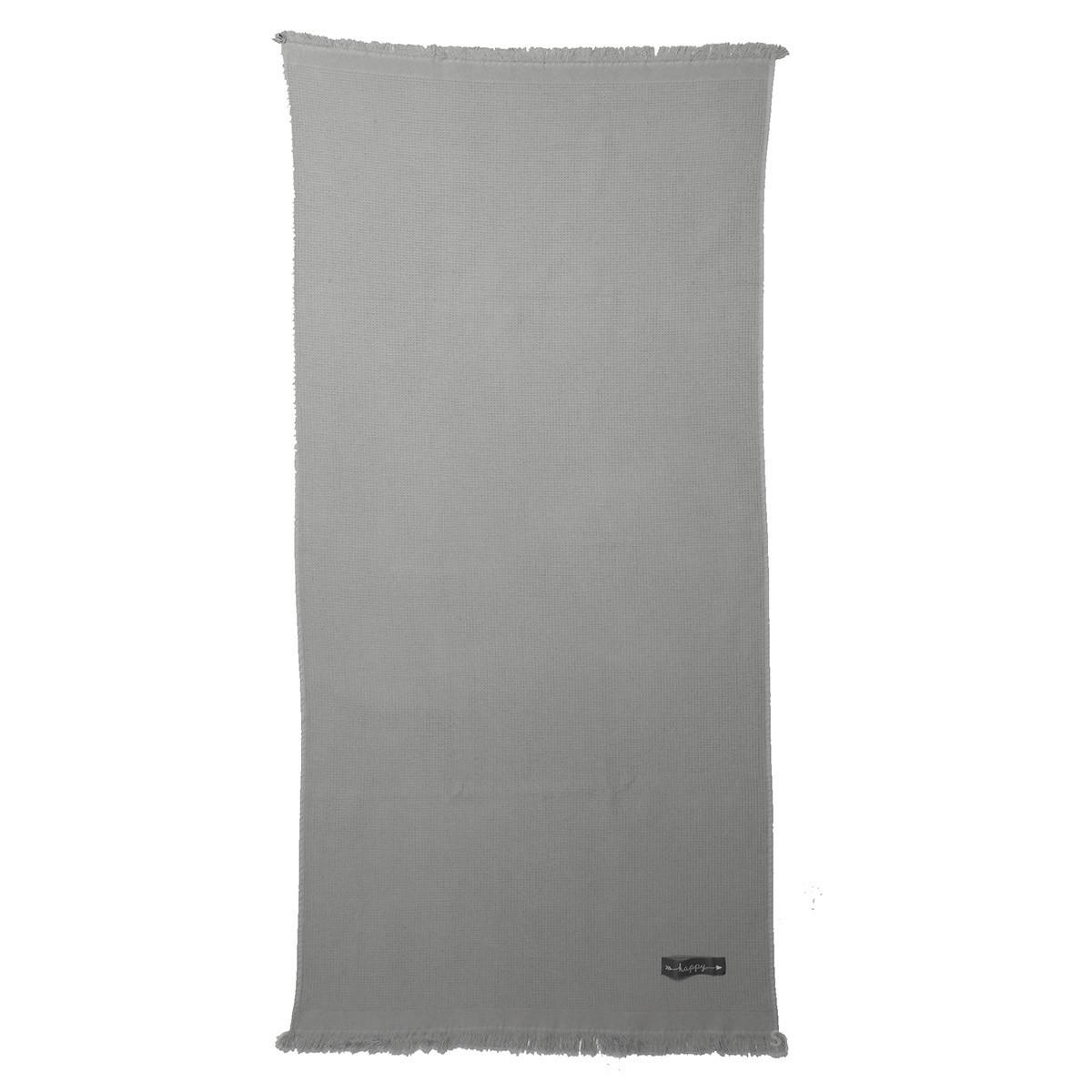 Πετσέτα Θαλάσσης – Παρεό Nef-Nef Solo Grey