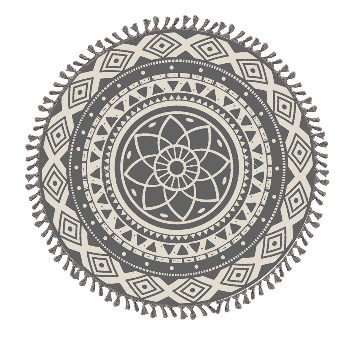 Στρογγυλό Παρεό Nef-Nef Mysterio Black