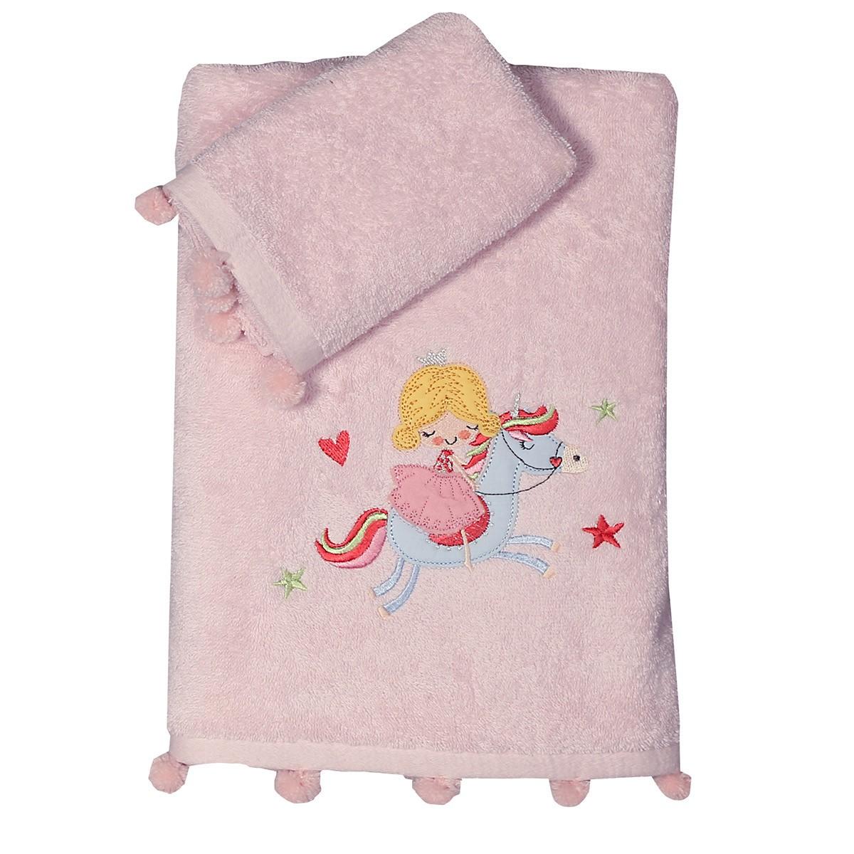 Παιδικές Πετσέτες (Σετ 2τμχ) Nef-Nef Kid Tiny Princess