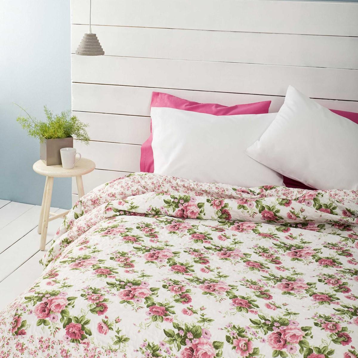 Κουβερλί Υπέρδιπλο Nima Layers Bed Of Roses