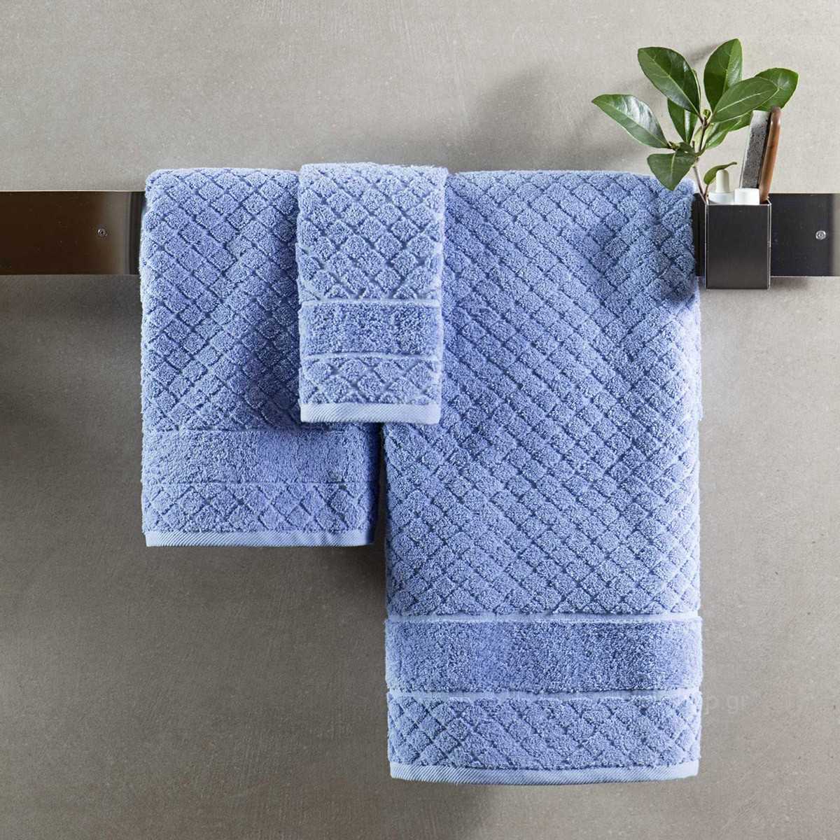 Πετσέτες Μπάνιου (Σετ 3τμχ) Nima Towels Damis