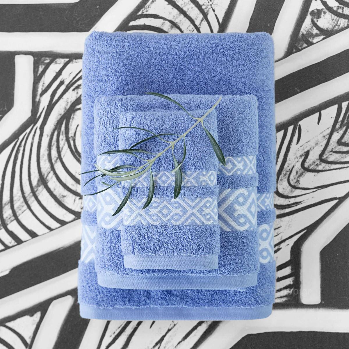 Πετσέτες Μπάνιου (Σετ 3τμχ) Nima Towels Ydrea 89073