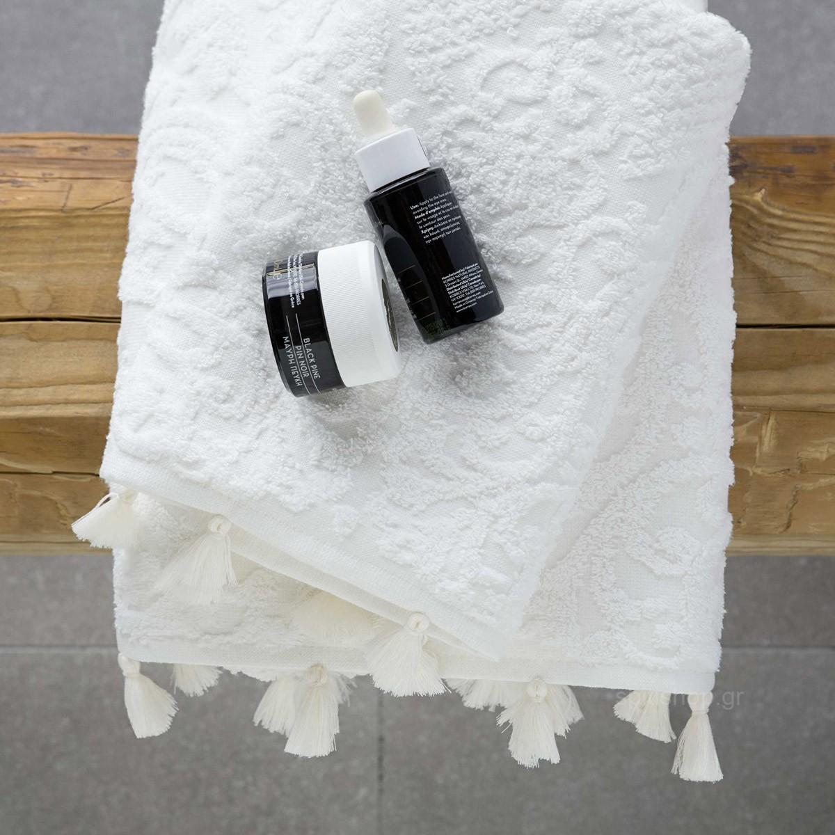 Πετσέτες Μπάνιου (Σετ 3τμχ) Nima Towels Galini 89083