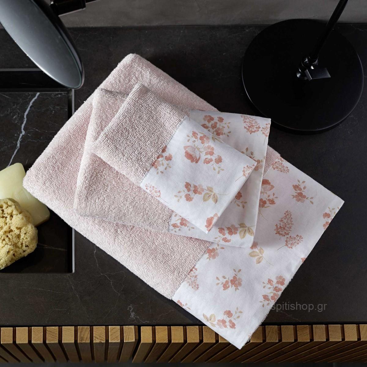 Πετσέτες Μπάνιου (Σετ 3τμχ) Nima Towels Alyssa 89087