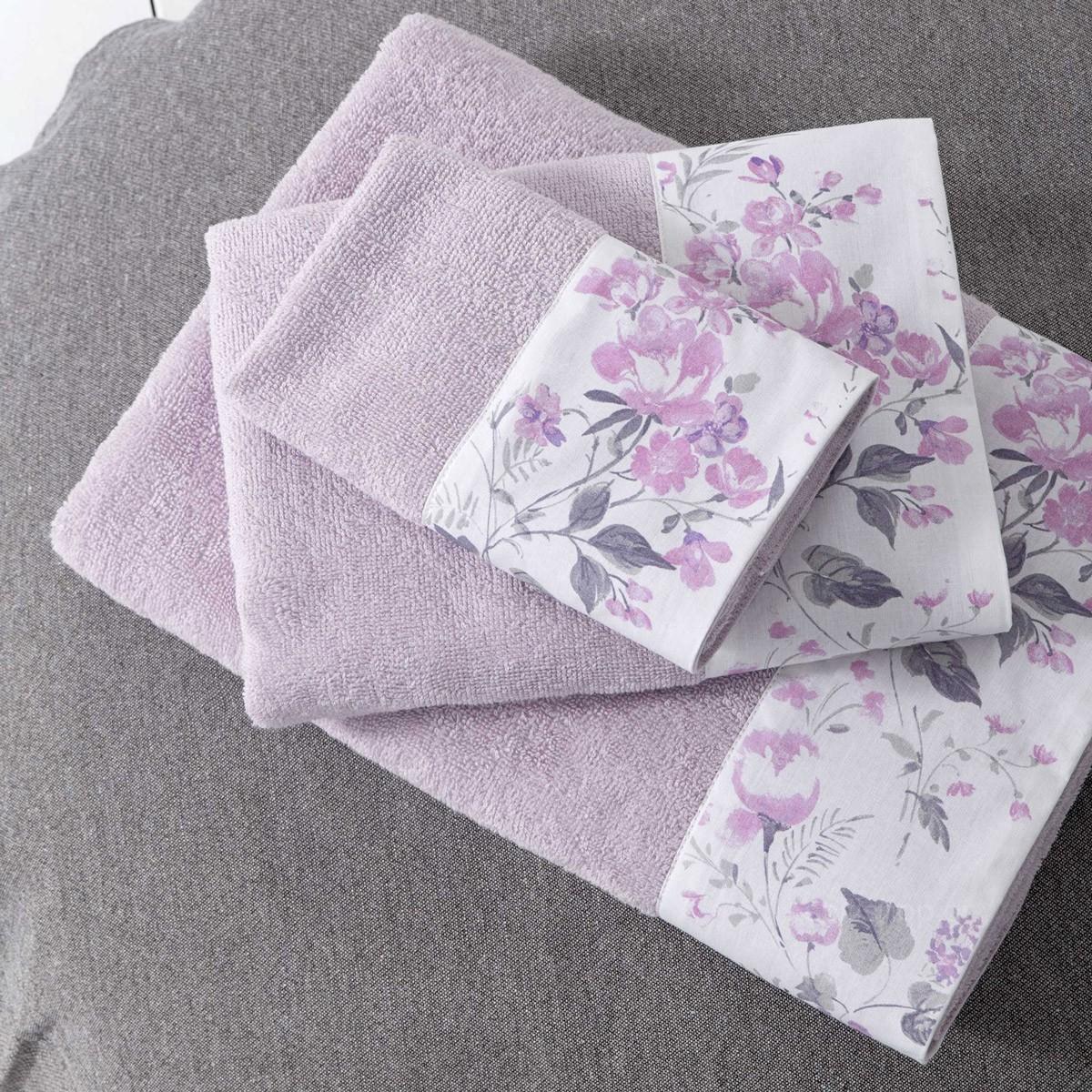 Πετσέτα Προσώπου (50×90) Nima Towels Floret