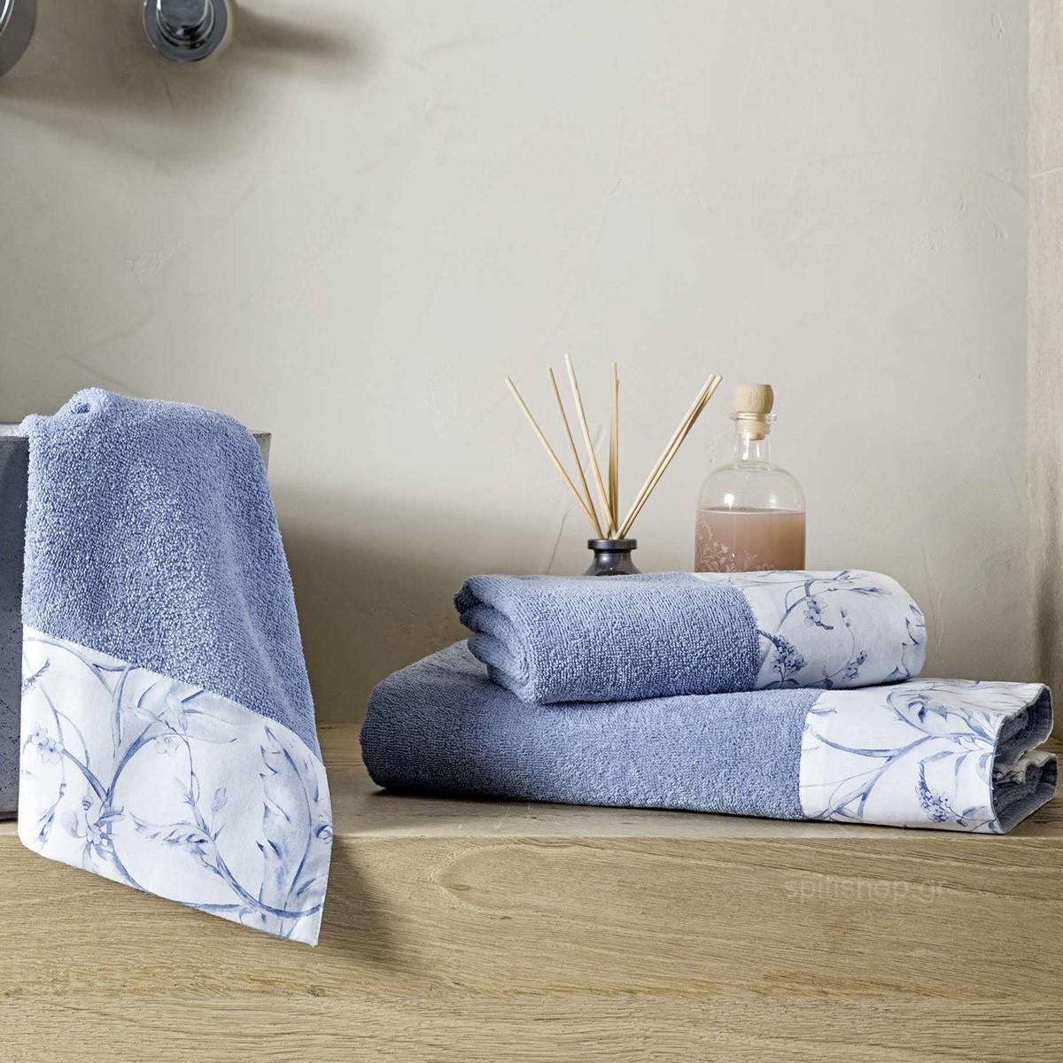 Πετσέτες Μπάνιου (Σετ 3τμχ) Nima Towels Oriana