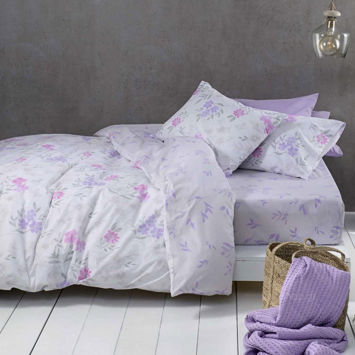 Σεντόνια Μονά (Σετ) Nima Bed Linen Lilian Pink ΧΩΡΙΣ ΛΑΣΤΙΧΟ ΧΩΡΙΣ ΛΑΣΤΙΧΟ home   κρεβατοκάμαρα   σεντόνια   σεντόνια μονά