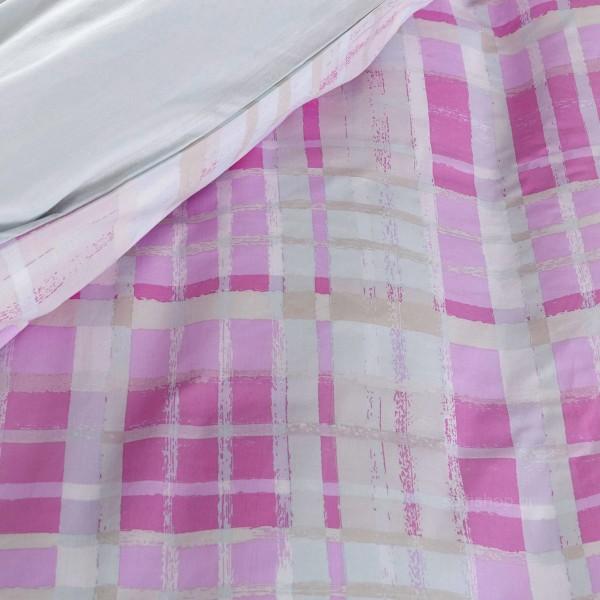 Κουβερλί Υπέρδιπλο Nima Bed Linen Melville Pink