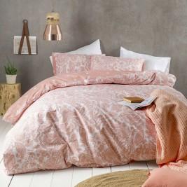 Σεντόνια Υπέρδιπλα (Σετ) Nima Bed Linen Keyla Coral