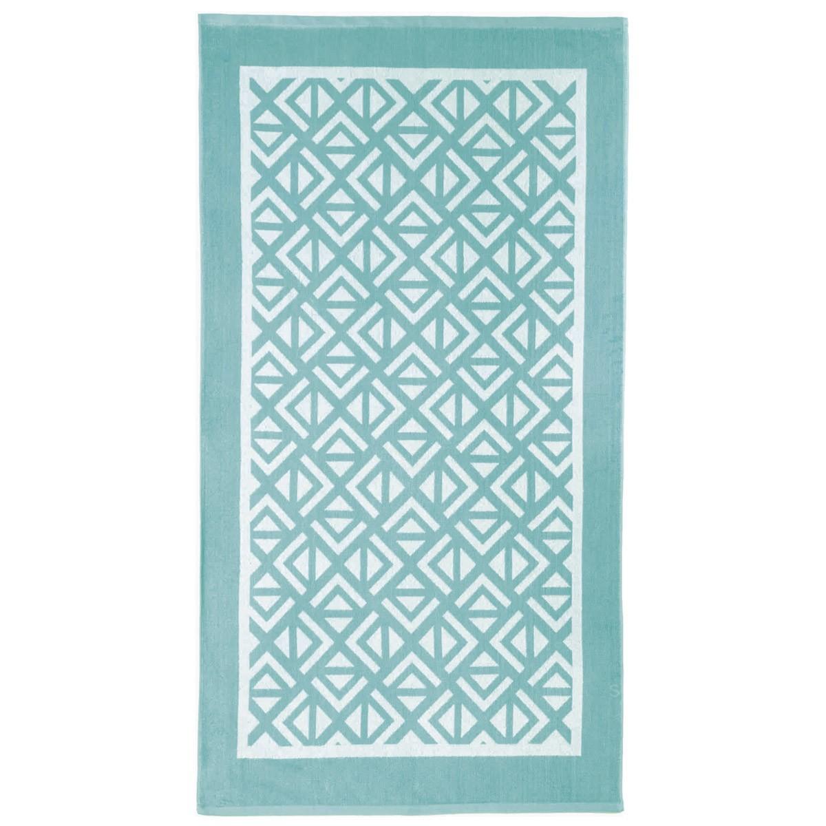 Πετσέτα Θαλάσσης Nima Beach Towels Segio Aqua