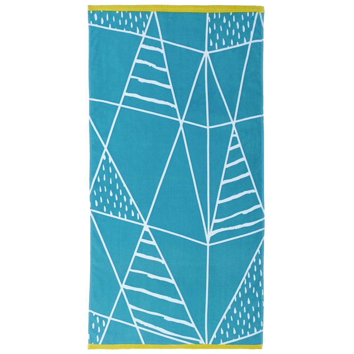 Πετσέτα Θαλάσσης Nima Beach Towels Kankun Blue