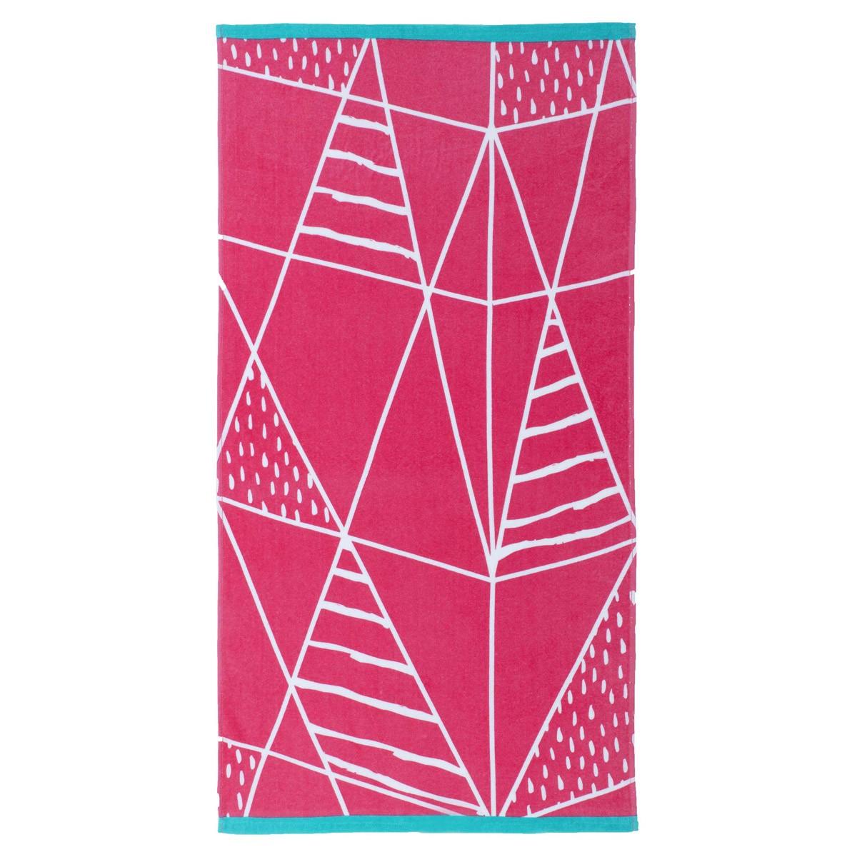 Πετσέτα Θαλάσσης Nima Beach Towels Kankun Pink