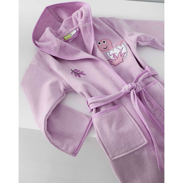 Βρεφικό Μπουρνούζι Nima Baby Roar Lilac