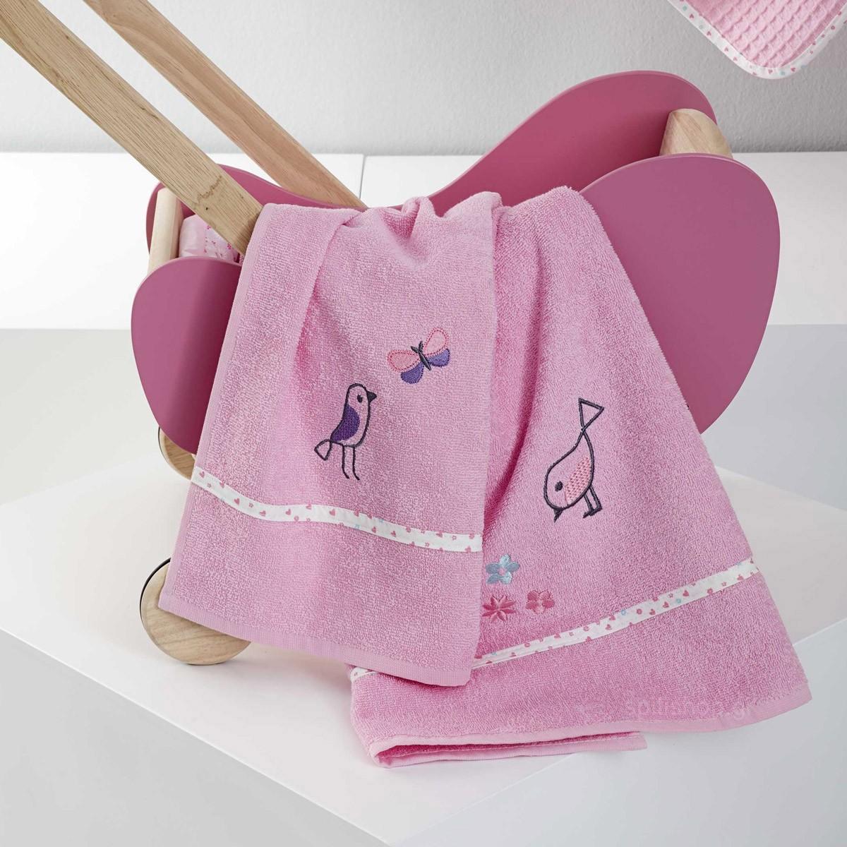 Βρεφικές Πετσέτες (Σετ 2τμχ) Nima Baby Tweet Tweet