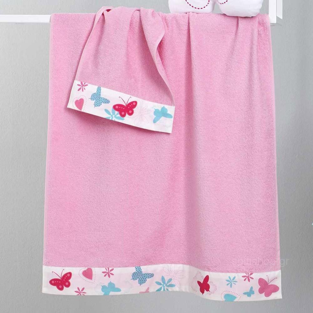 Παιδικές Πετσέτες (Σετ 2τμχ) Nima Kids Butterfies