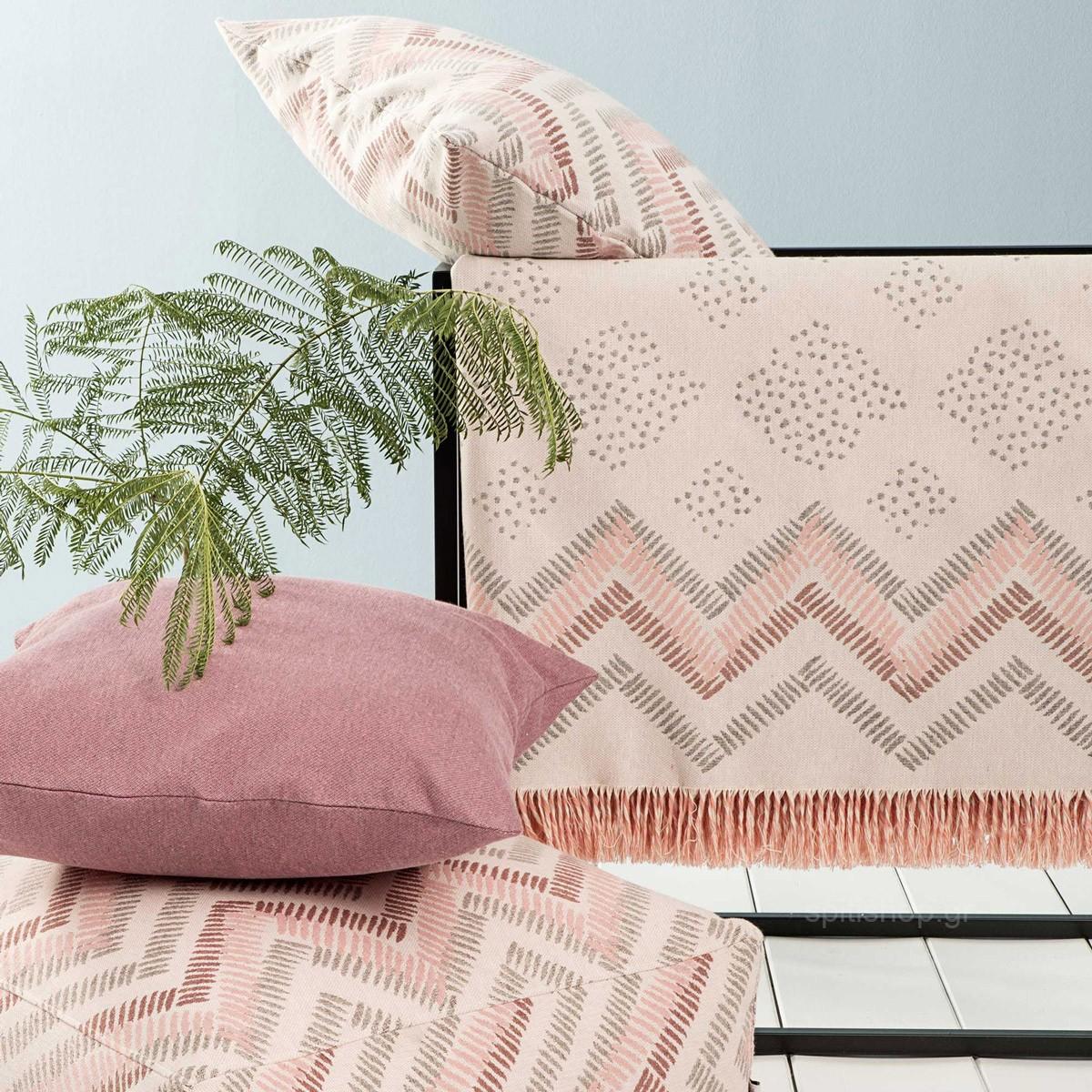 Ριχτάρι Διθέσιου (180×240) Nima Throws Bonnolo Pink