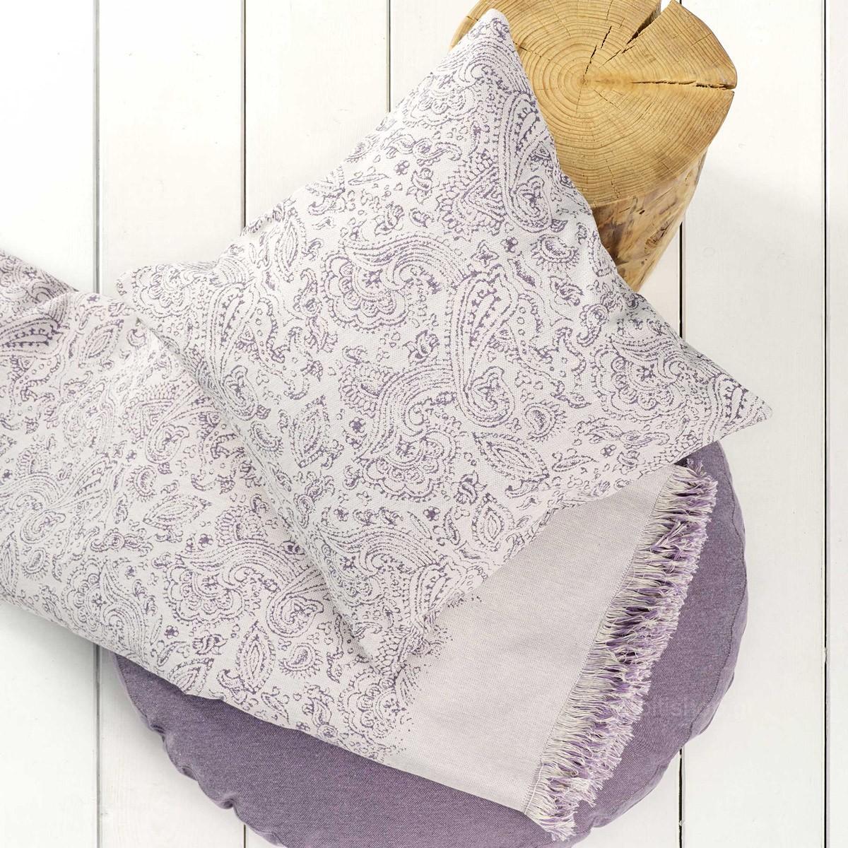 Ριχτάρι Πολυθρόνας (180×180) Nima Throws Keyla Lilac