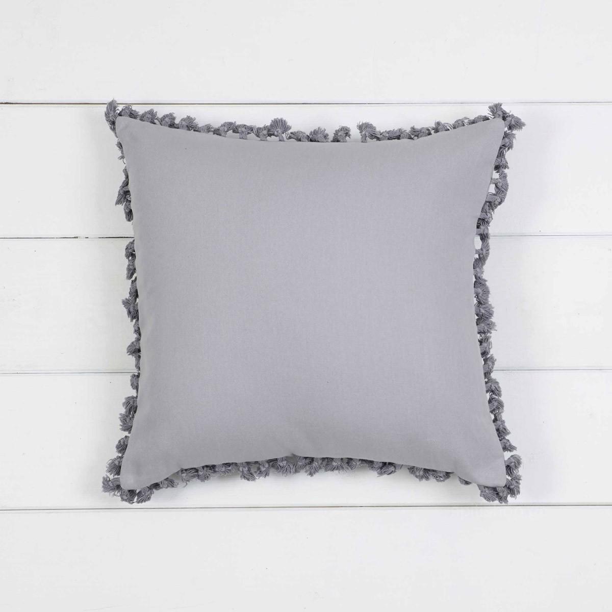 Διακοσμητική Μαξιλαροθήκη Nima Cushions Hommy Grey 89429