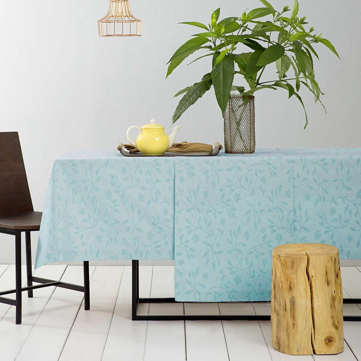 Τραπεζομάντηλο (150×220) Nima Table Linen Anthea Aqua