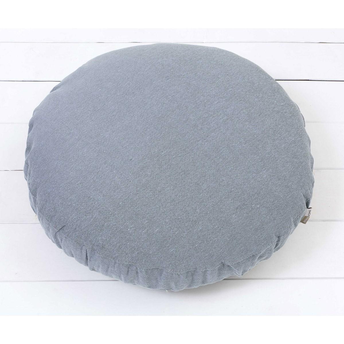 Διακοσμητικό Πουφ Nima Floor Pillows Rondo Blue 89485