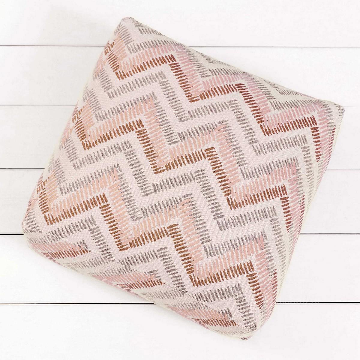Διακοσμητικό Πουφ Nima Pouf Bonnolo Pink