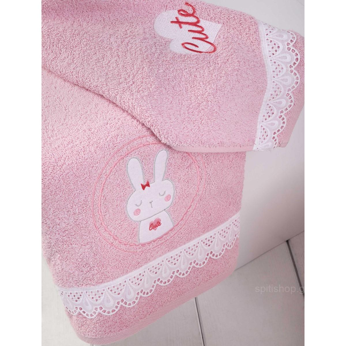 Βρεφικές Πετσέτες (Σετ 2τμχ) Nima Baby Cutie