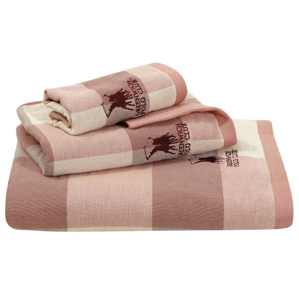 Πετσέτες Μπάνιου (Σετ 3τμχ) Polo Club Essential 2521