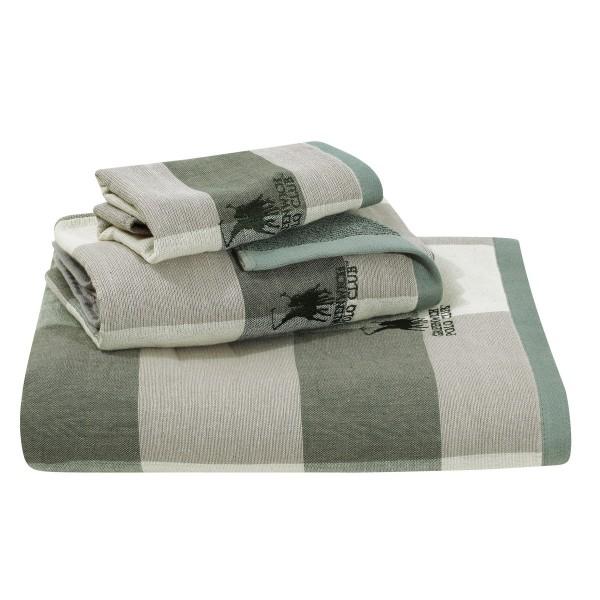 Πετσέτες Μπάνιου (Σετ 3τμχ) Polo Club Essential 2522