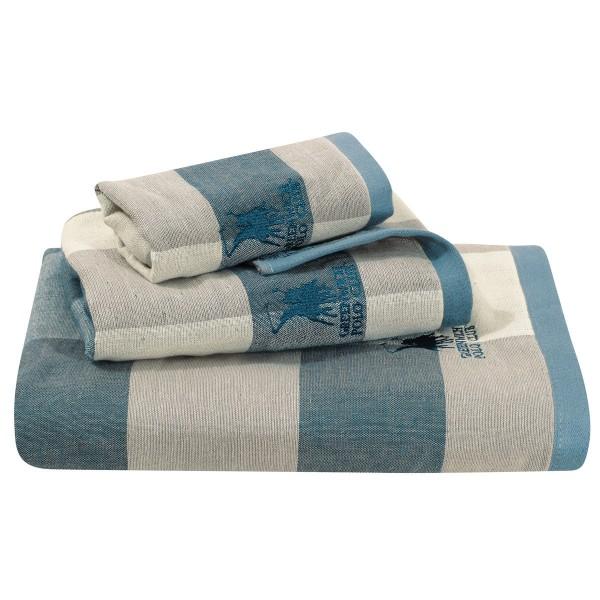 Πετσέτες Μπάνιου (Σετ 3τμχ) Polo Club Essential 2523