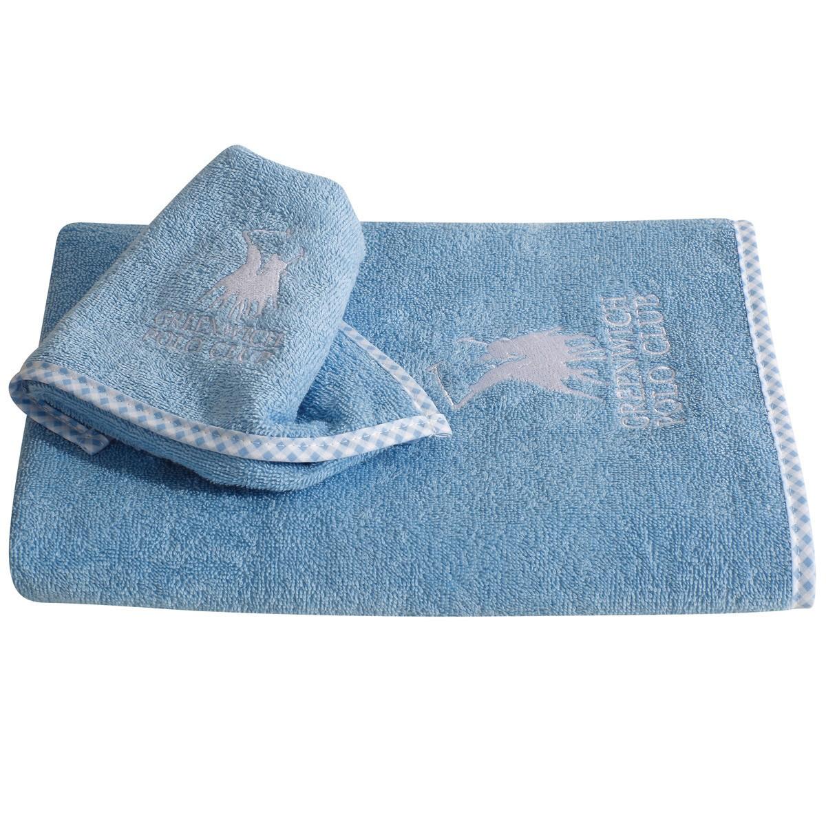 Βρεφικές Πετσέτες (Σετ 2τμχ) Polo Club Essential Baby 2961