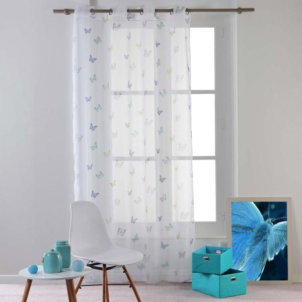 Κουρτίνα (140x240) Με Τρουκς L-C Hesperia Bleu 1625359