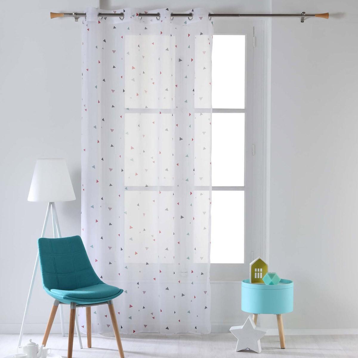 Κουρτίνα (140×240) Με Τρουκς Trigone Pastel 1625305
