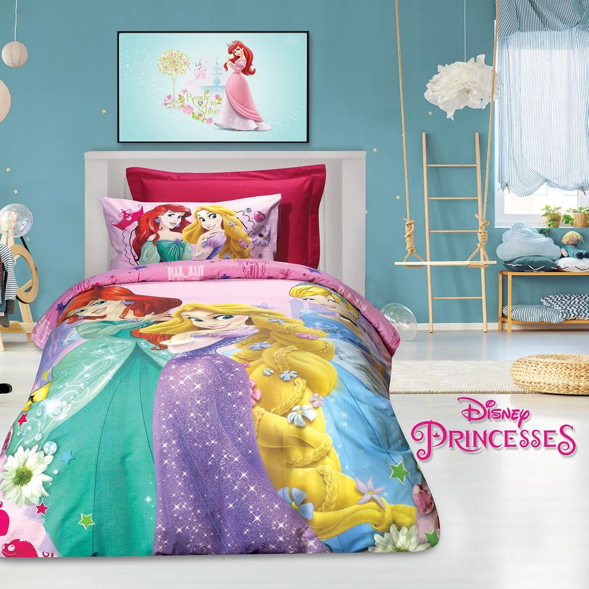 Παπλωματοθήκη Μονή (Σετ) Das Home Ladies Princesses 5012