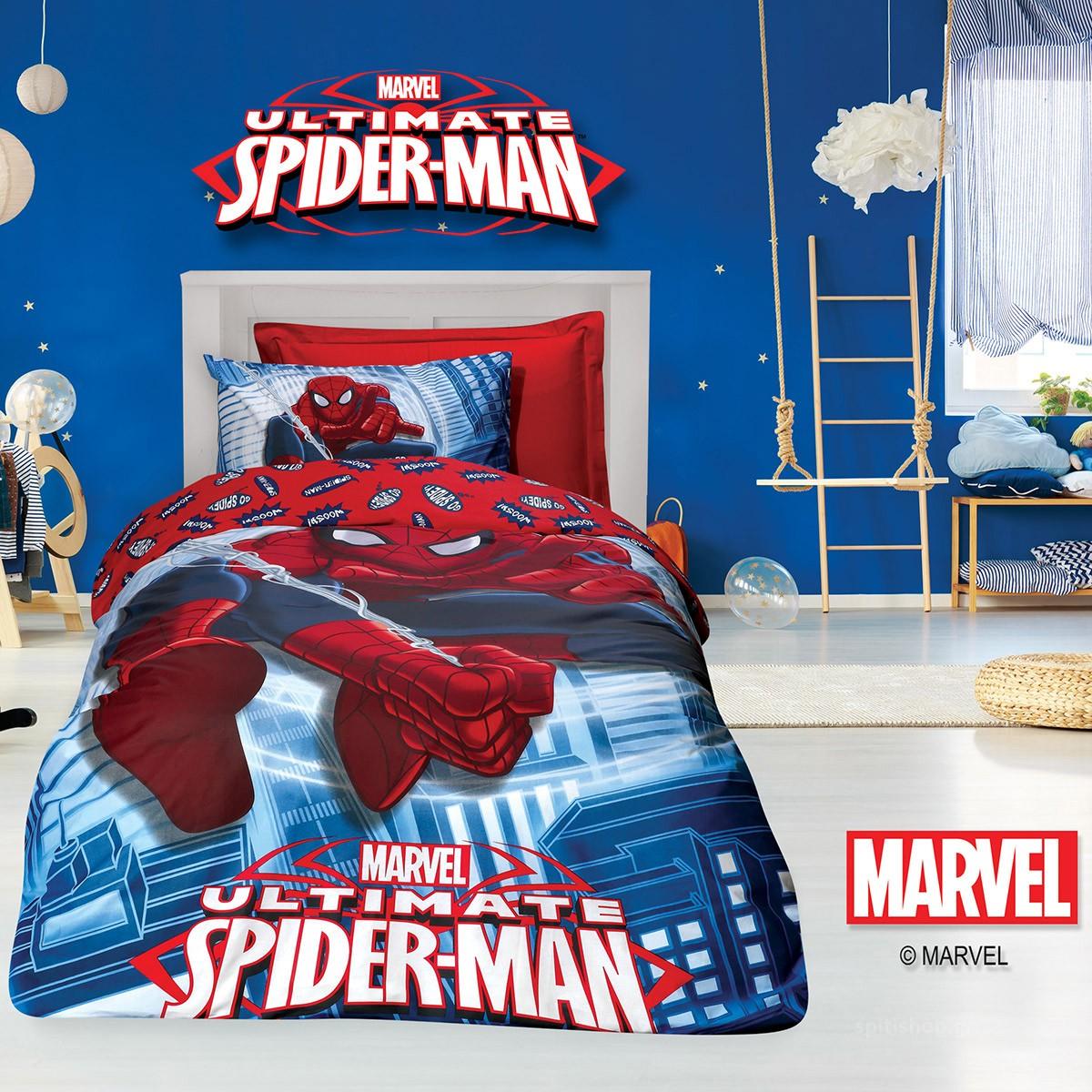 Παπλωματοθήκη Μονή (Σετ) Das Home Spiderman Ulti 5010 89788