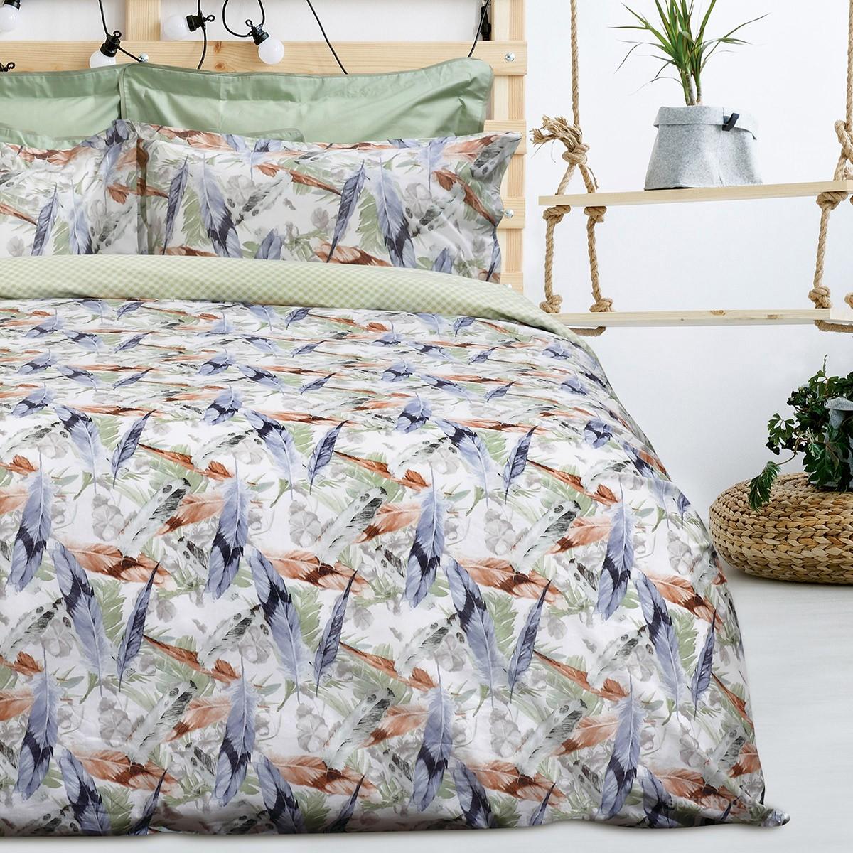 Σεντόνια Υπέρδιπλα (Σετ) Das Home Best Line Prints 4630