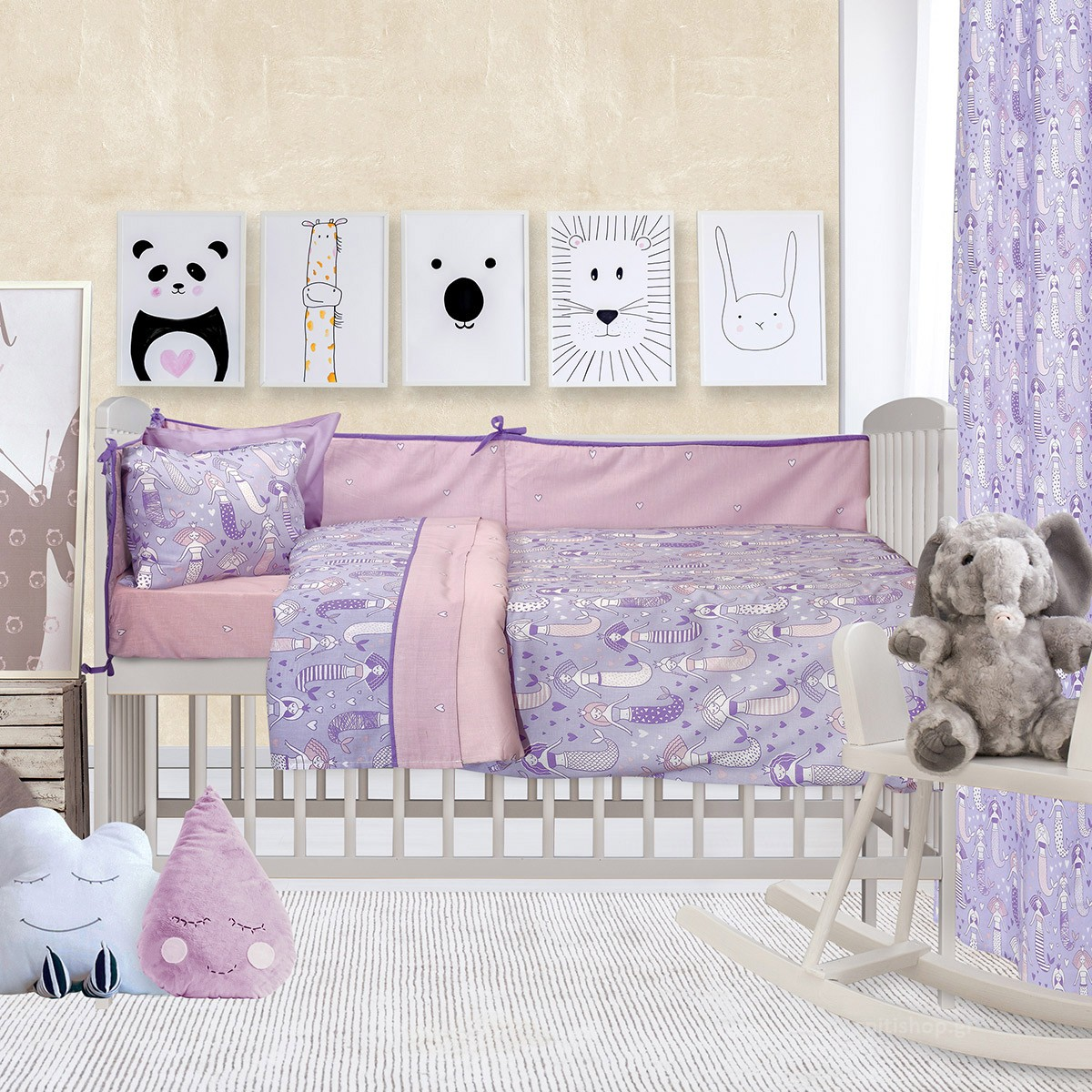 Κουβερλί Κούνιας Das Home Fun Prints 6450 89867