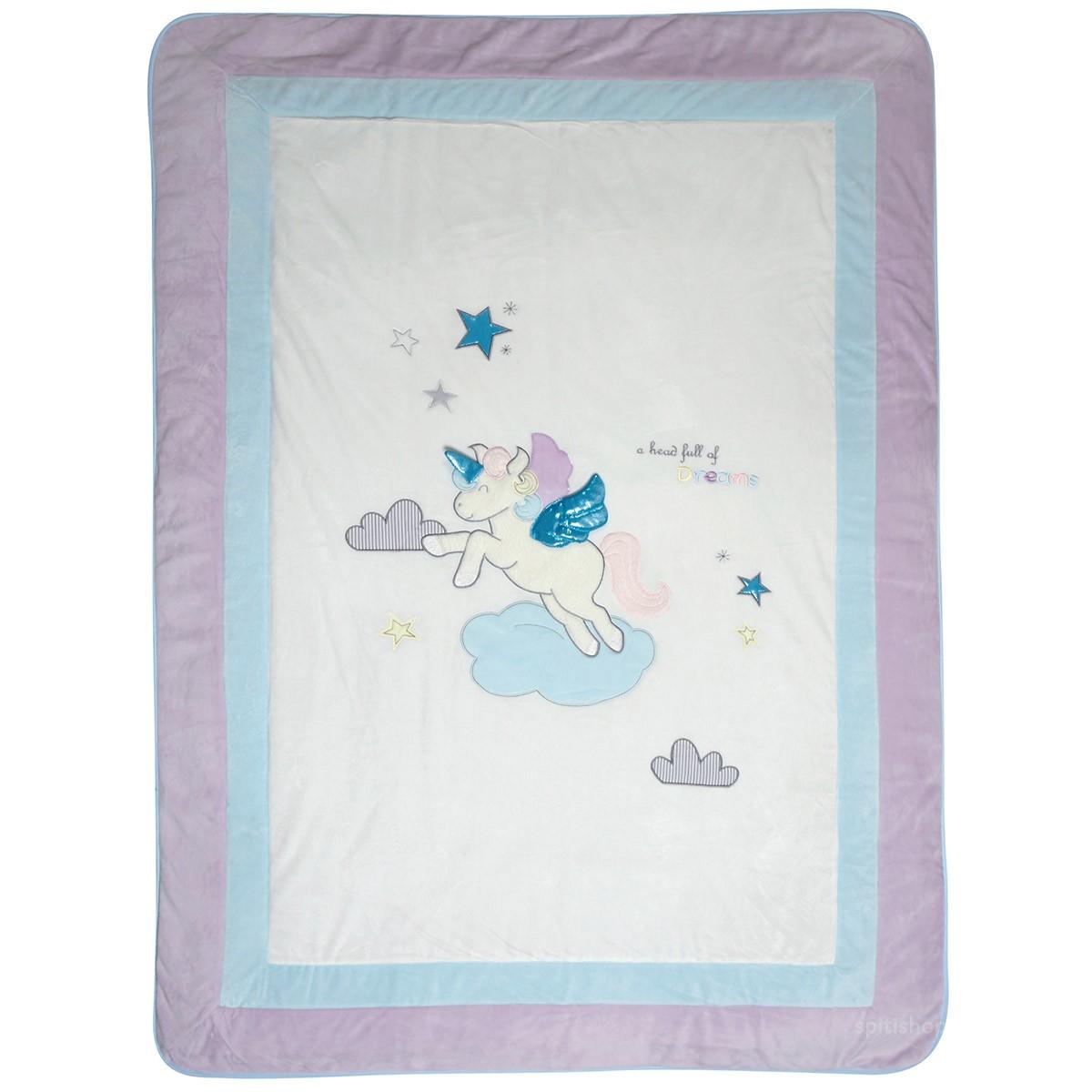 Κουβερλί Κούνιας (Σετ) Das Home Dream Embroidery 6463