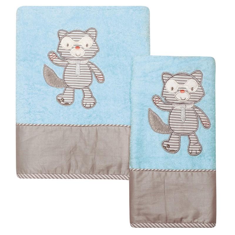 Βρεφικές Πετσέτες (Σετ 2τμχ) Das Home Dream Embroidery 6462