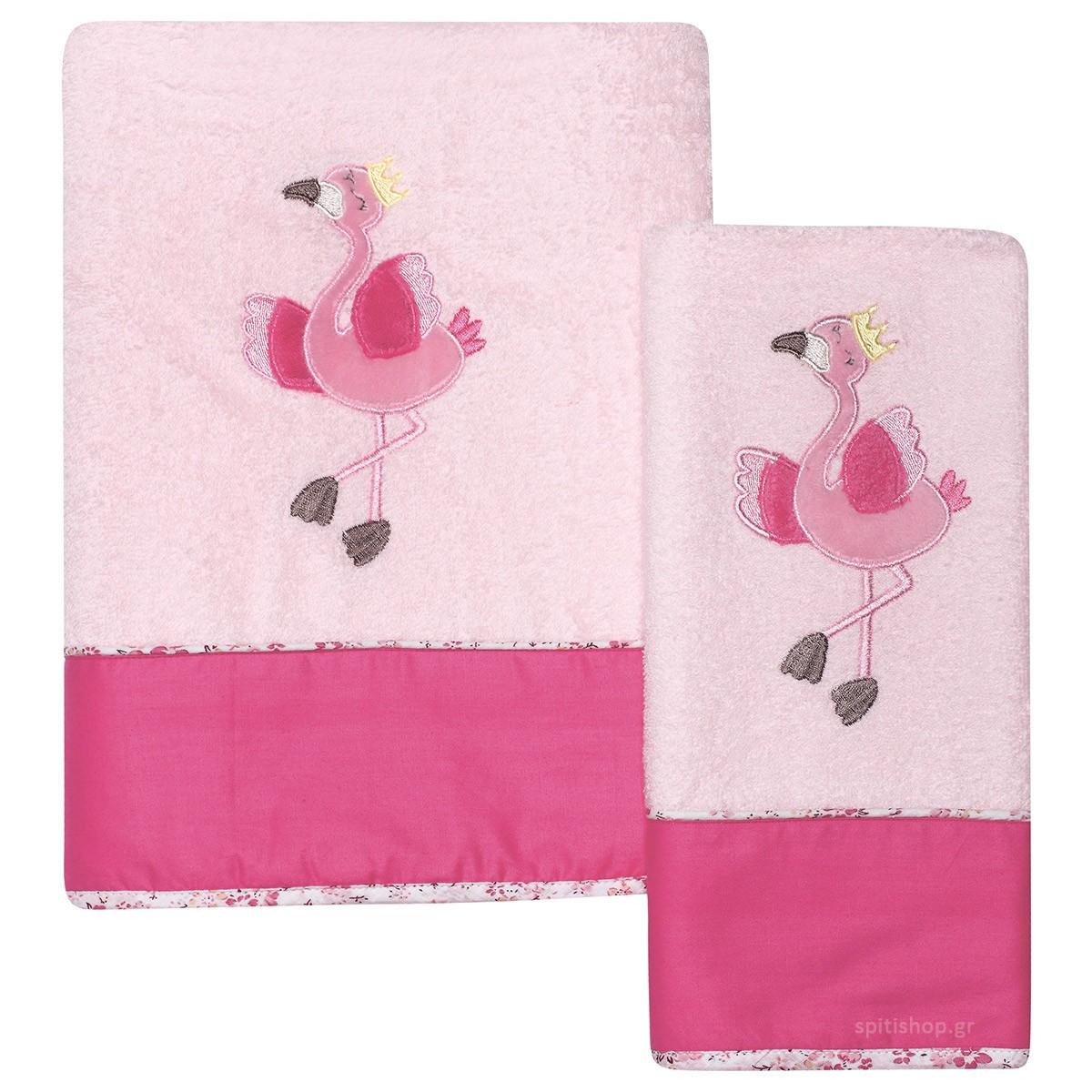 Βρεφικές Πετσέτες (Σετ 2τμχ) Das Home Dream Embroidery 6464 89917