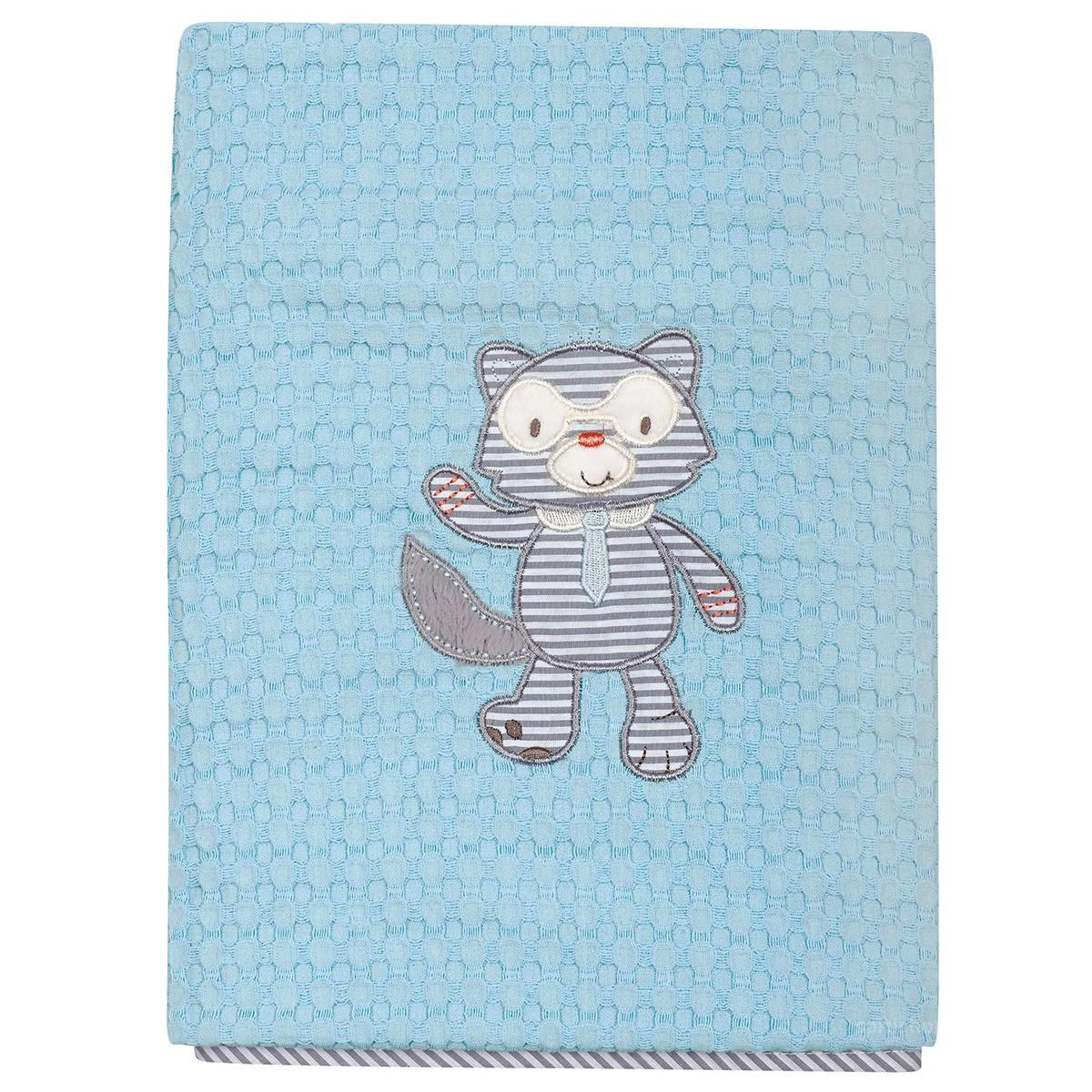 Κουβέρτα Πικέ Αγκαλιάς Das Home Dream Embroidery 6462 89921