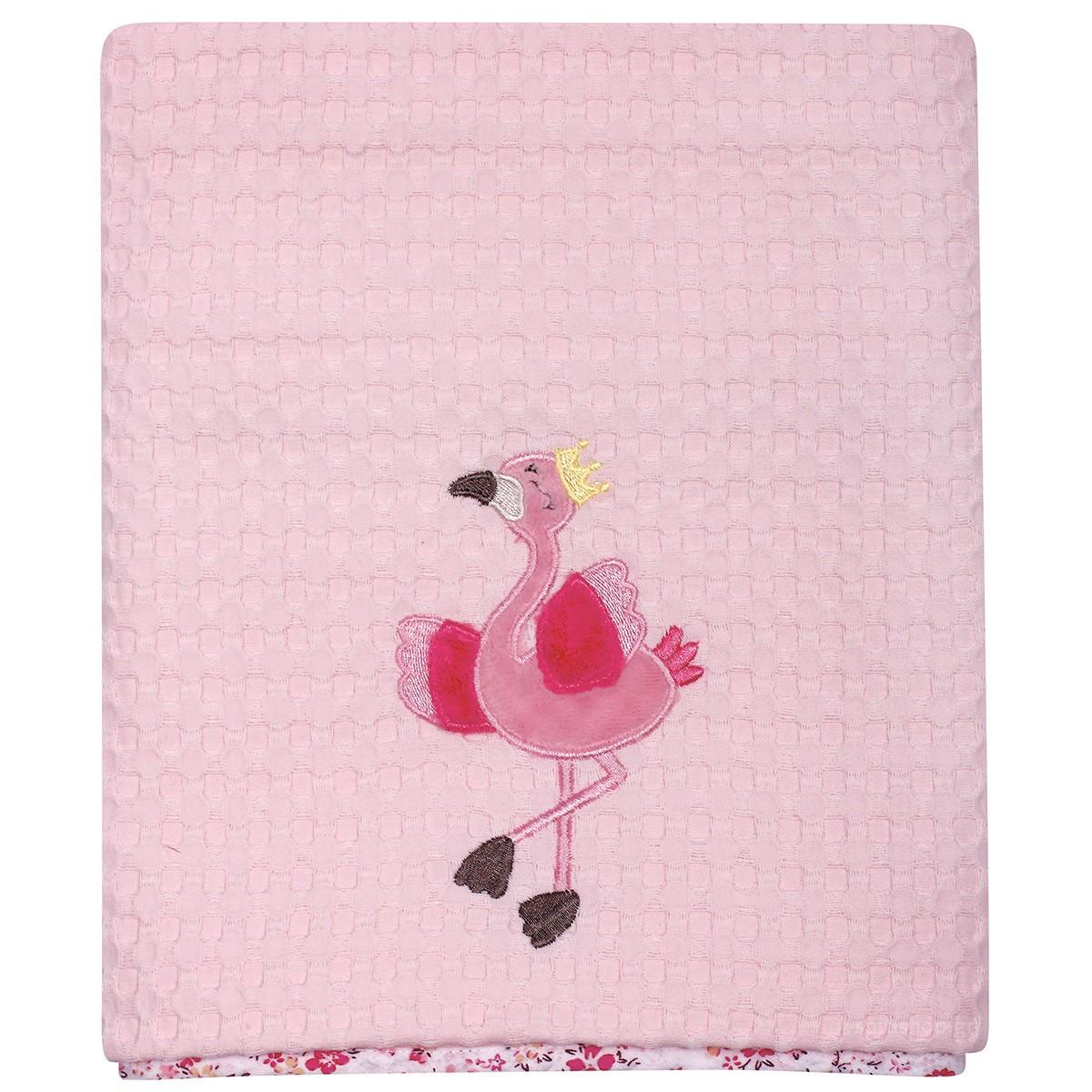 Κουβέρτα Πικέ Κούνιας Das Home Dream Embroidery 6464 89926