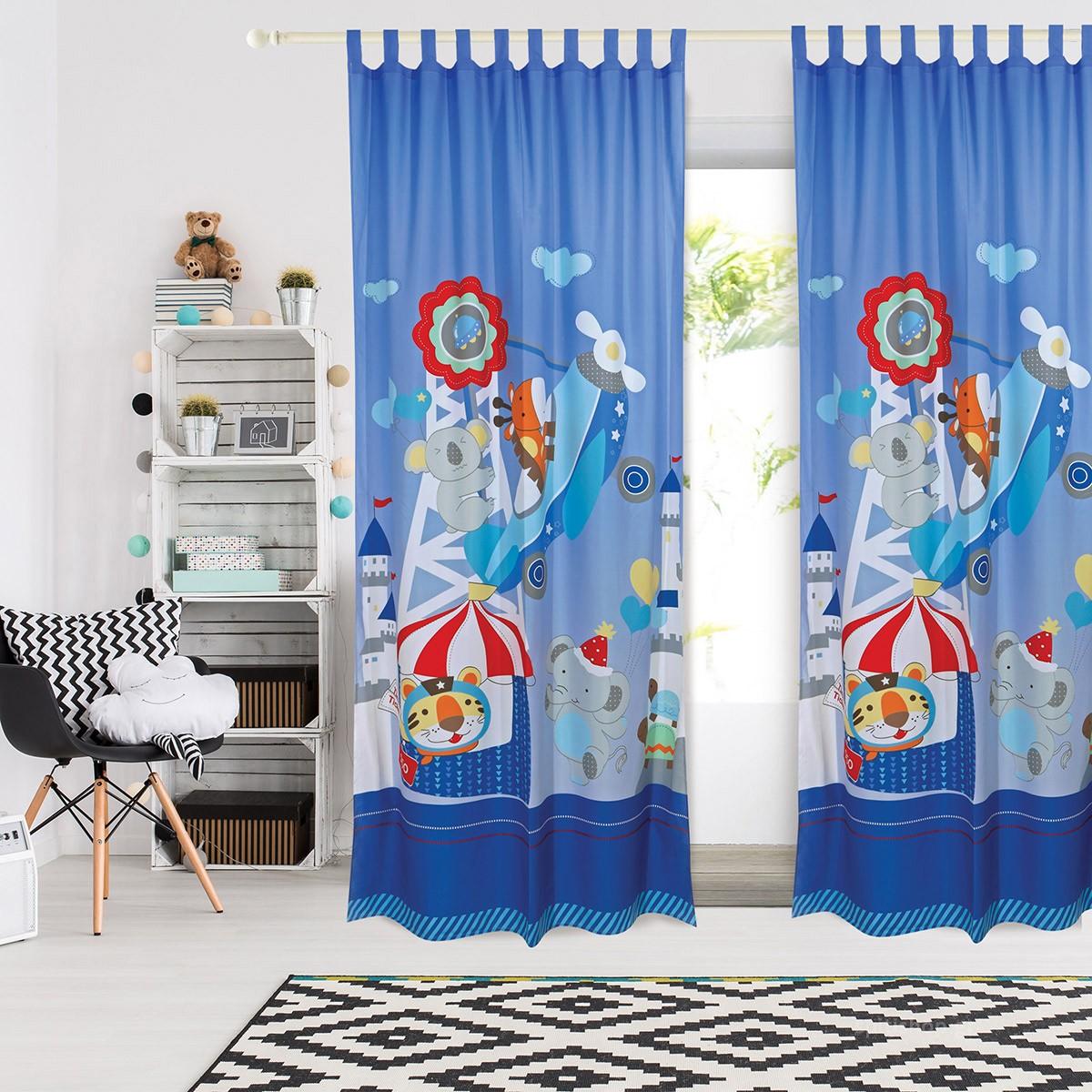 Παιδική Κουρτίνα (140×260) Das Home Smile 6456
