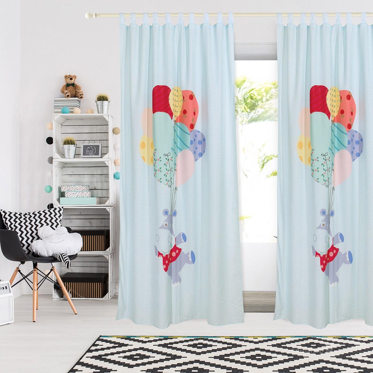 Παιδική Κουρτίνα (140×260) Das Home Smile 6457