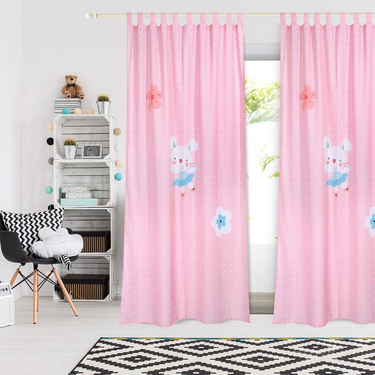 Παιδική Κουρτίνα (140×260) Das Home Smile 6458