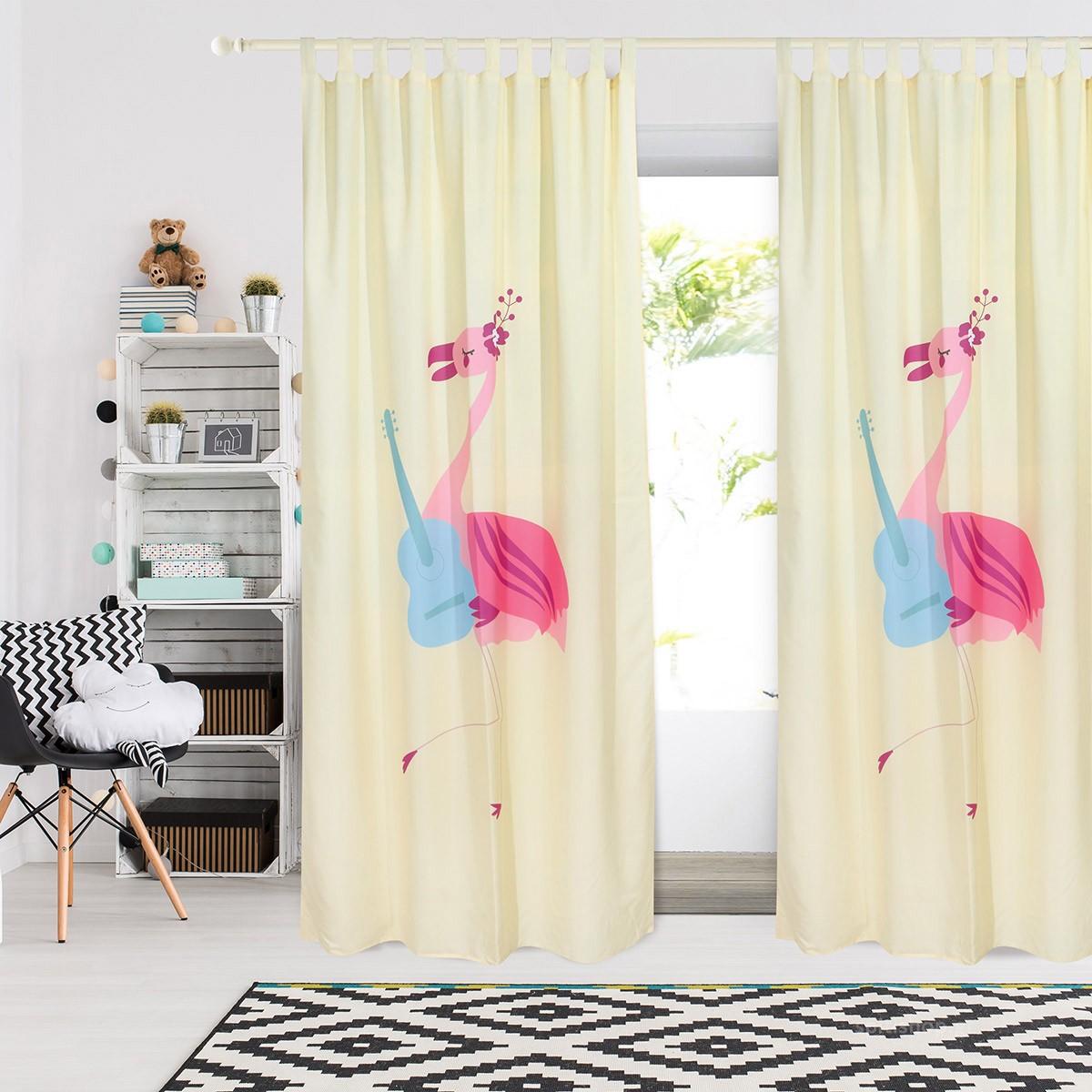 Παιδική Κουρτίνα (140×260) Das Home Smile 6461
