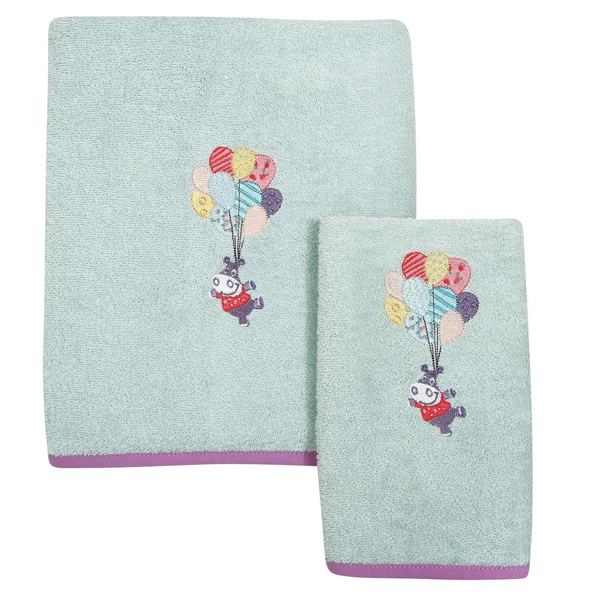 Βρεφικές Πετσέτες (Σετ 2τμχ) Das Home Smile 6457
