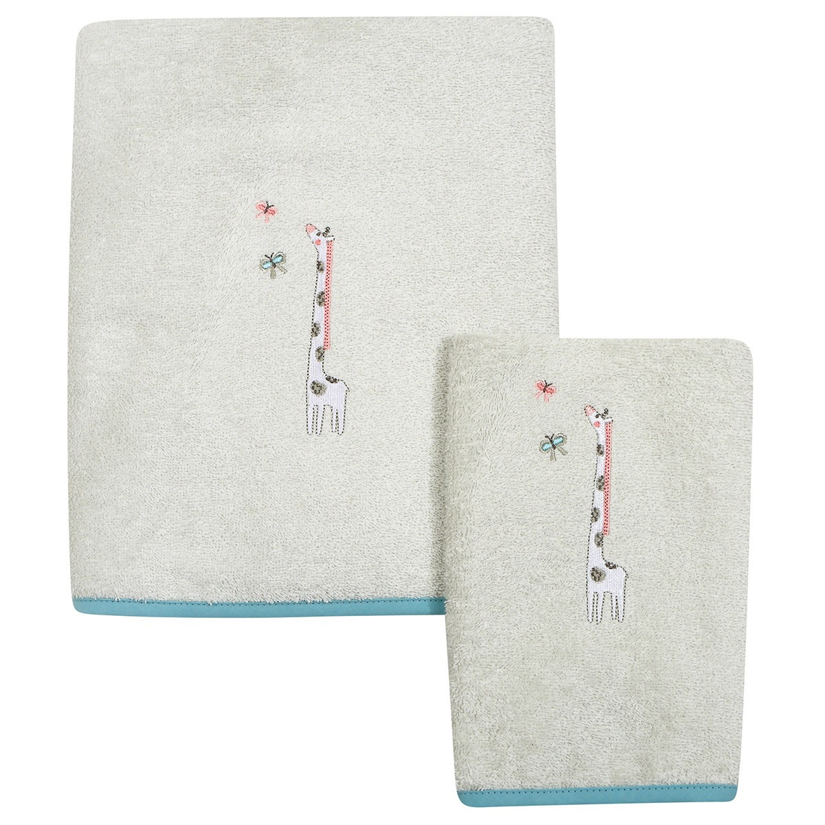 Βρεφικές Πετσέτες (Σετ 2τμχ) Das Home Smile 6459