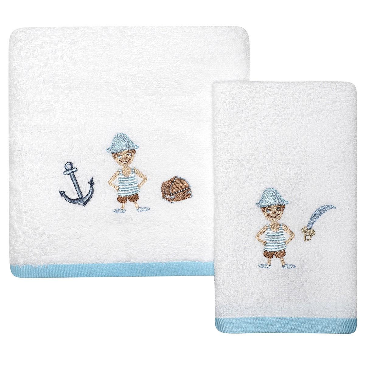 Βρεφικές Πετσέτες (Σετ 2τμχ) Das Home Fun Prints 6454