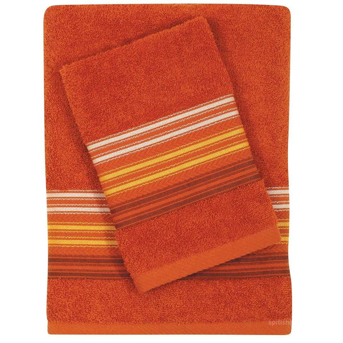 Πετσέτες Μπάνιου (Σετ 3τμχ) Das Home Best 342